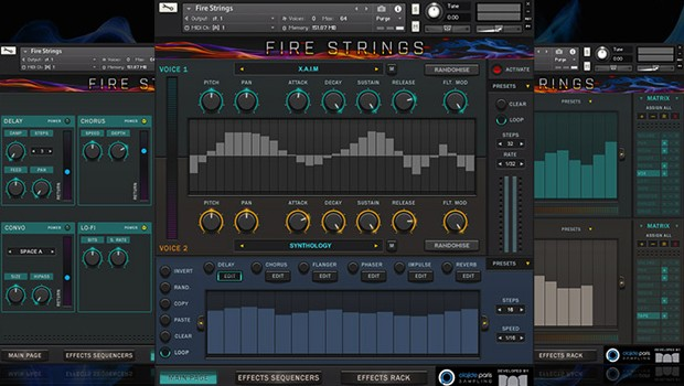 Fire Strings GUI