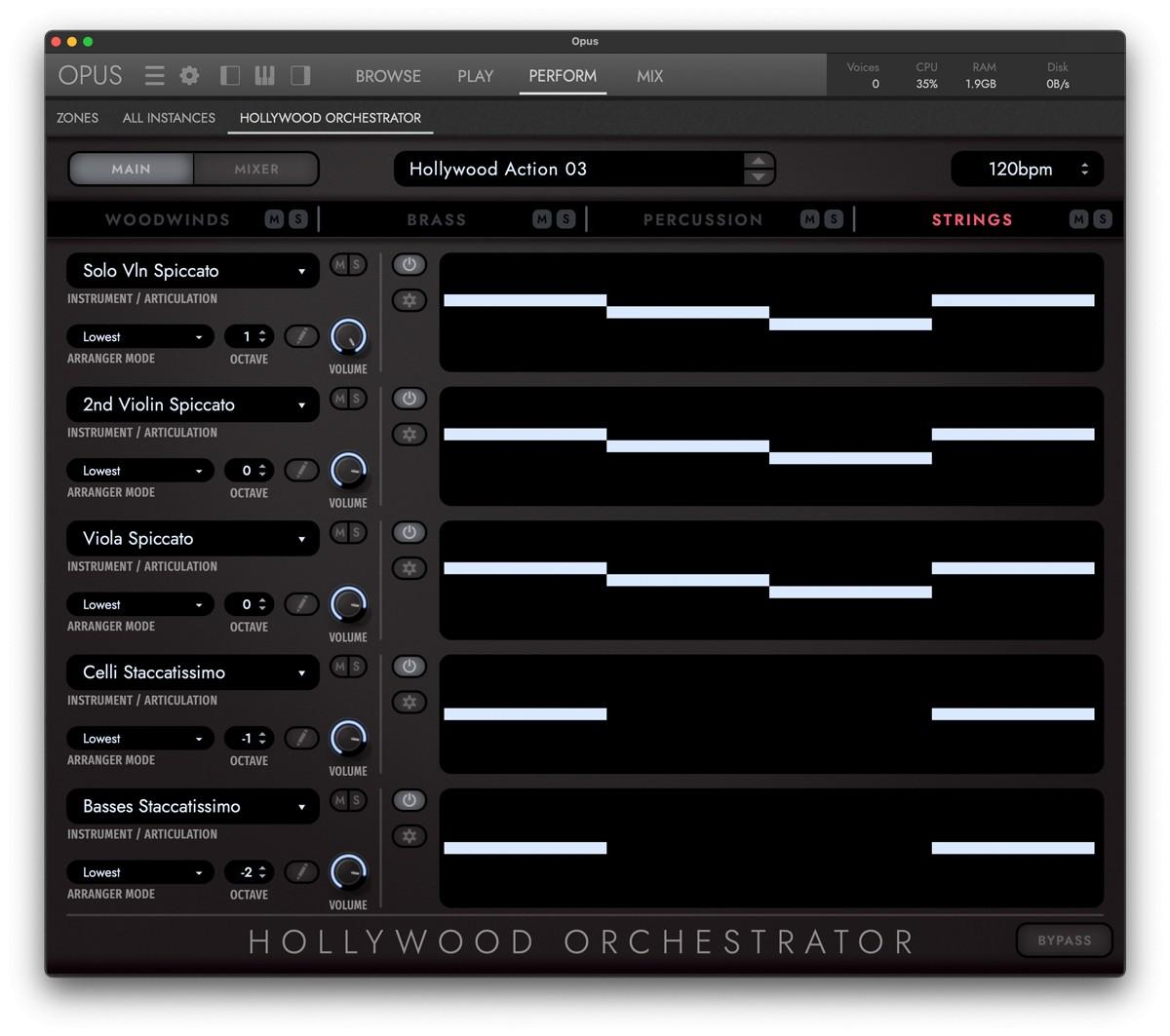 HWo OPus Orchestrator GUI Screen 1
