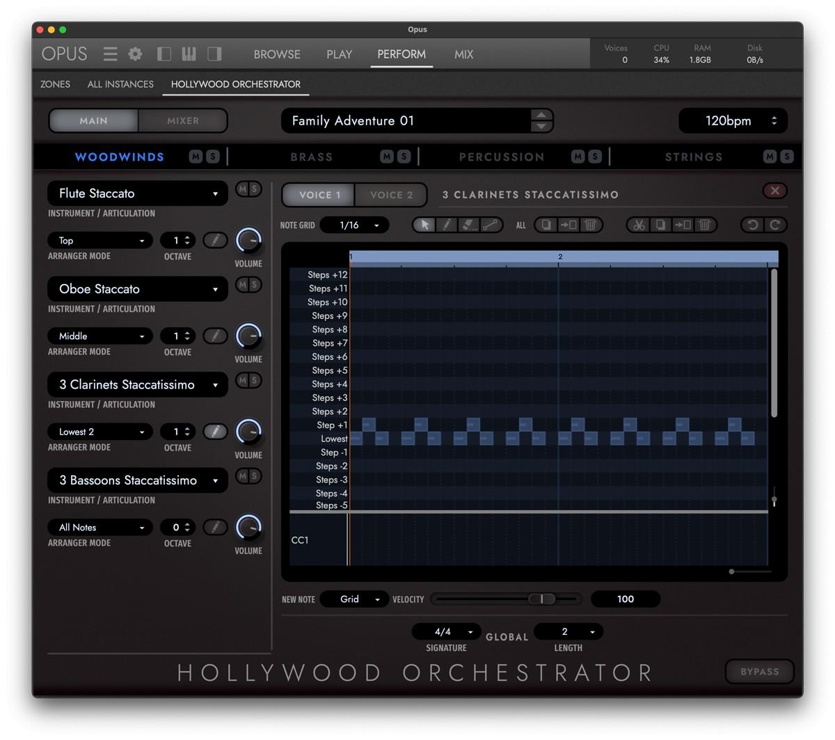 HWo OPus Orchestrator GUI Screen 2