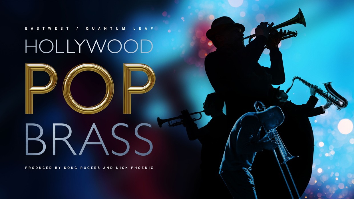 Hollywood Pop Brass Banner