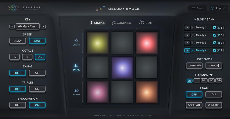 Melody Sauce GUI
