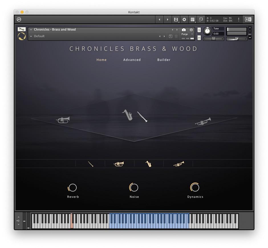 Chronicles Brass & Wood GUI