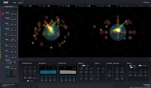 SPAT GUI Screen