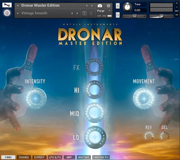 Dronar Master Edition GUI
