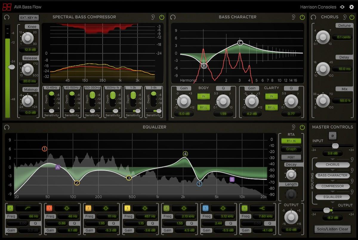 AVA Bass Flow GUI