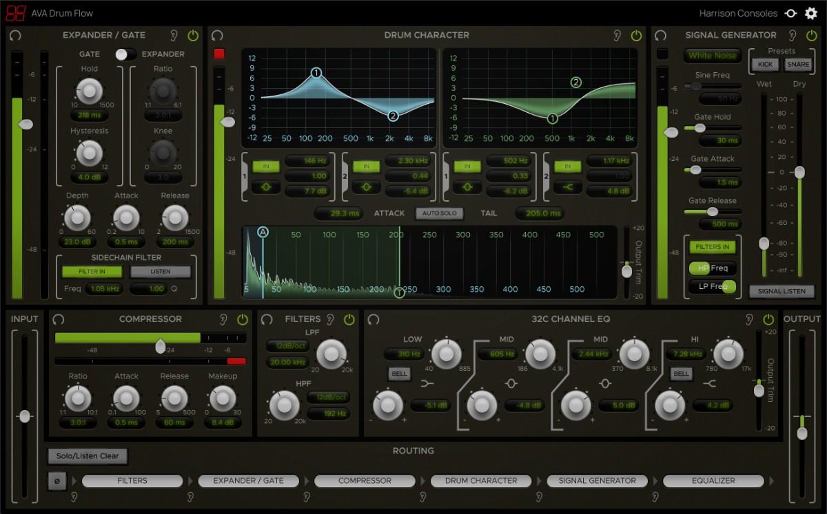 AVA Drum Flow GUI