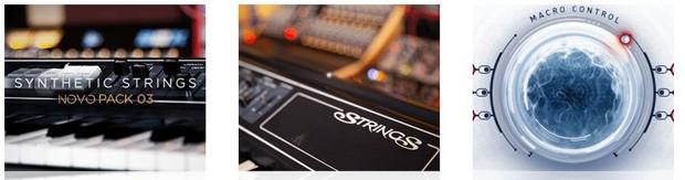 Synthetic Strings Art