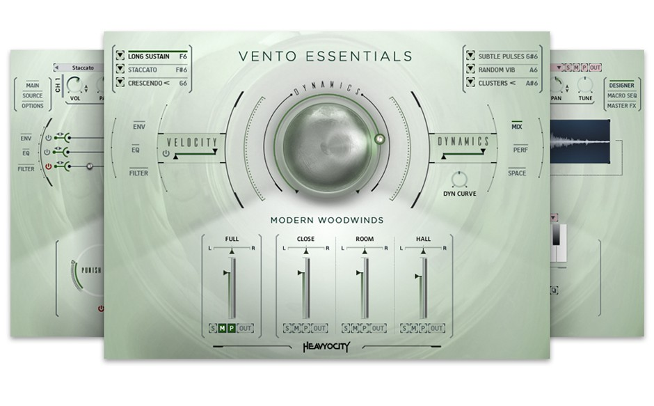 VENTO Essential GUI Screen