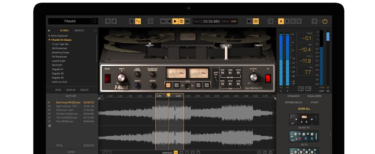 Tape Machine 24 Banner