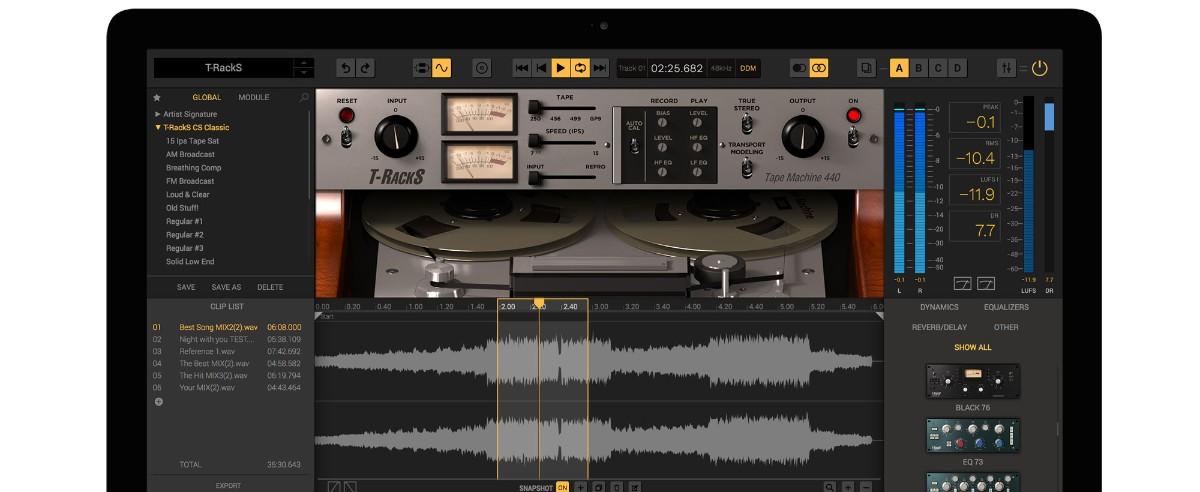 Tape Machine 440 Banner