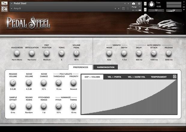 Pedal Steel GUI 1