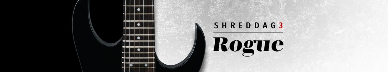 Shreddage Rogue Header