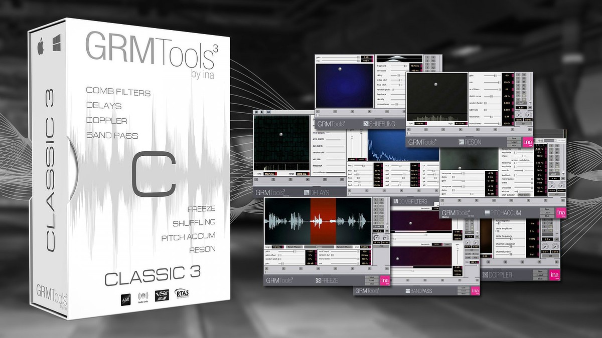 Ina GRM Tools Classic 3 Bundle