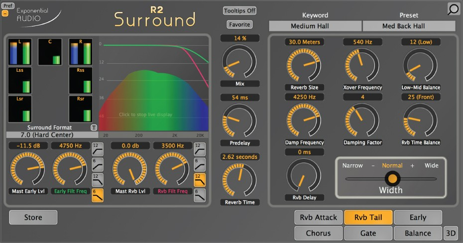 R2Surround GUI