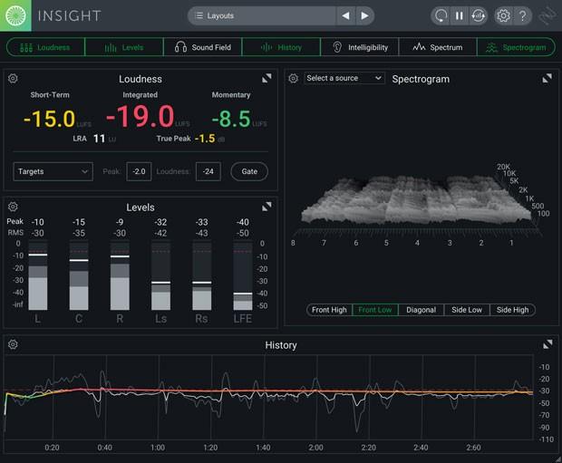 Insight GUI Screen 2