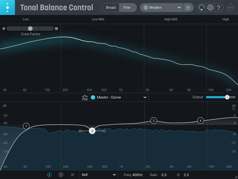 Tonal Balance Control GUI
