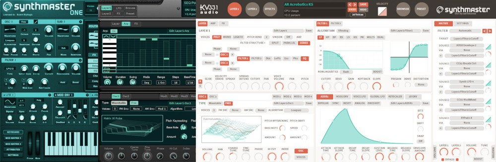 SynthMaster Everything Bundle GUI