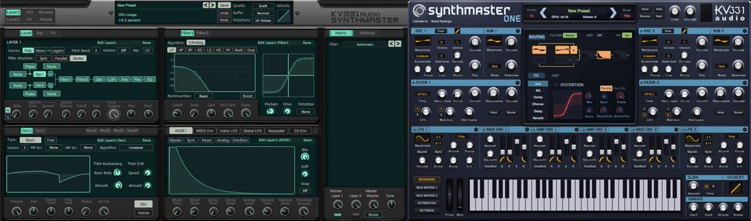 SynthMasterBundle GUI
