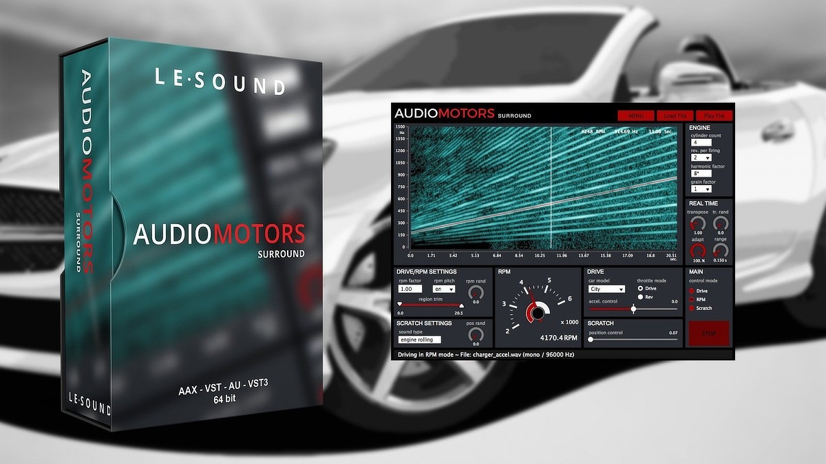 AudioMotors Banner