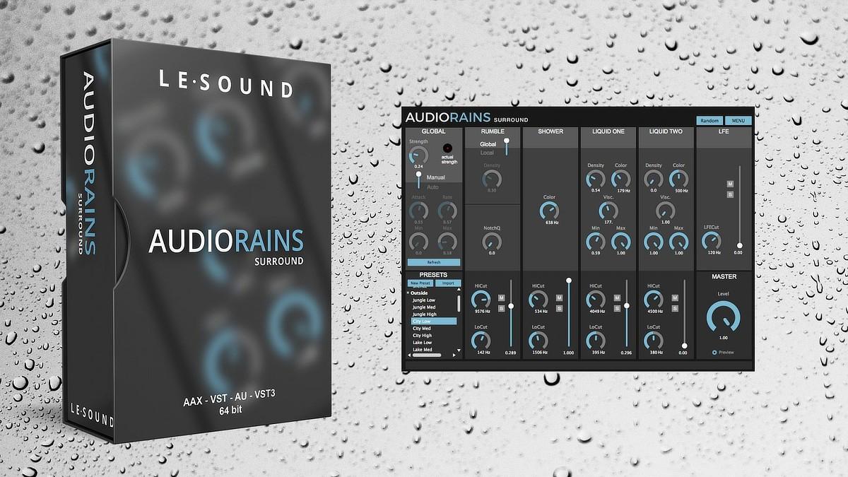 AudioRains Banner