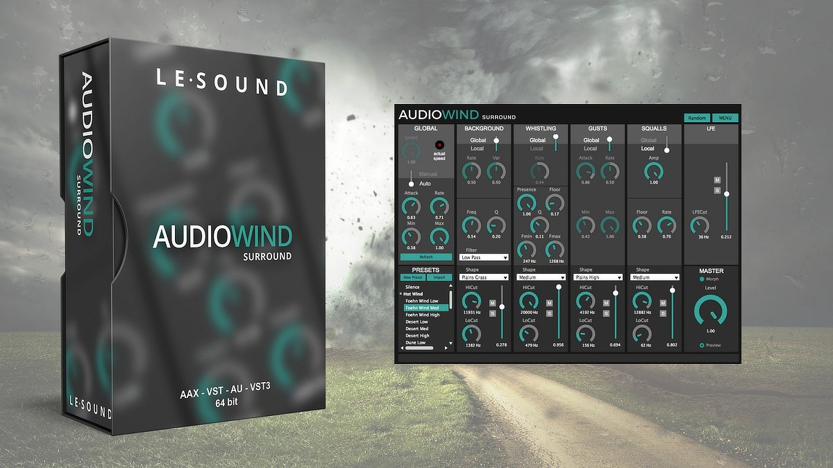 AudioWind Banner