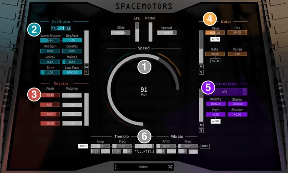 SpaceMotors GUI