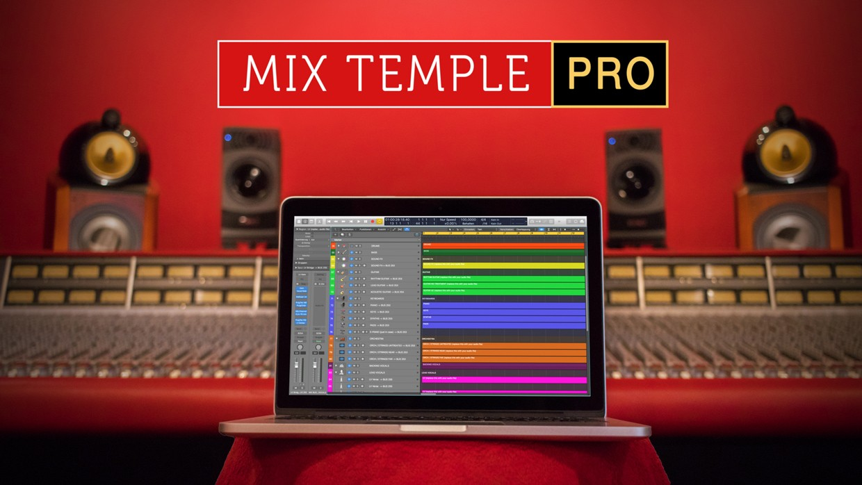 Mix Temple Pro Header