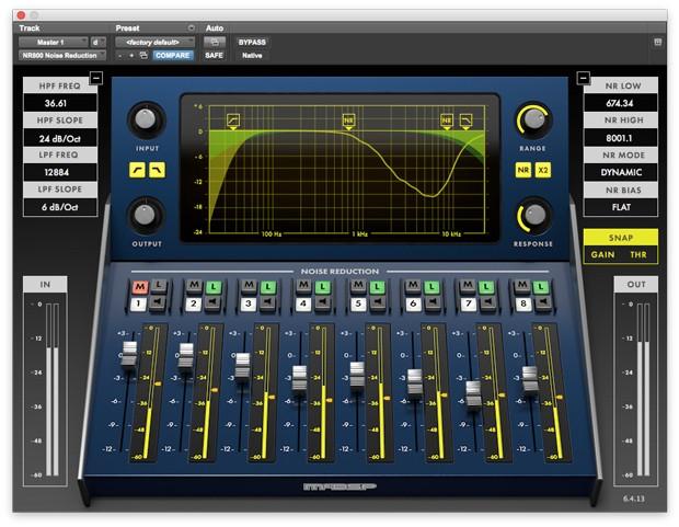 NR800 GUI Screen