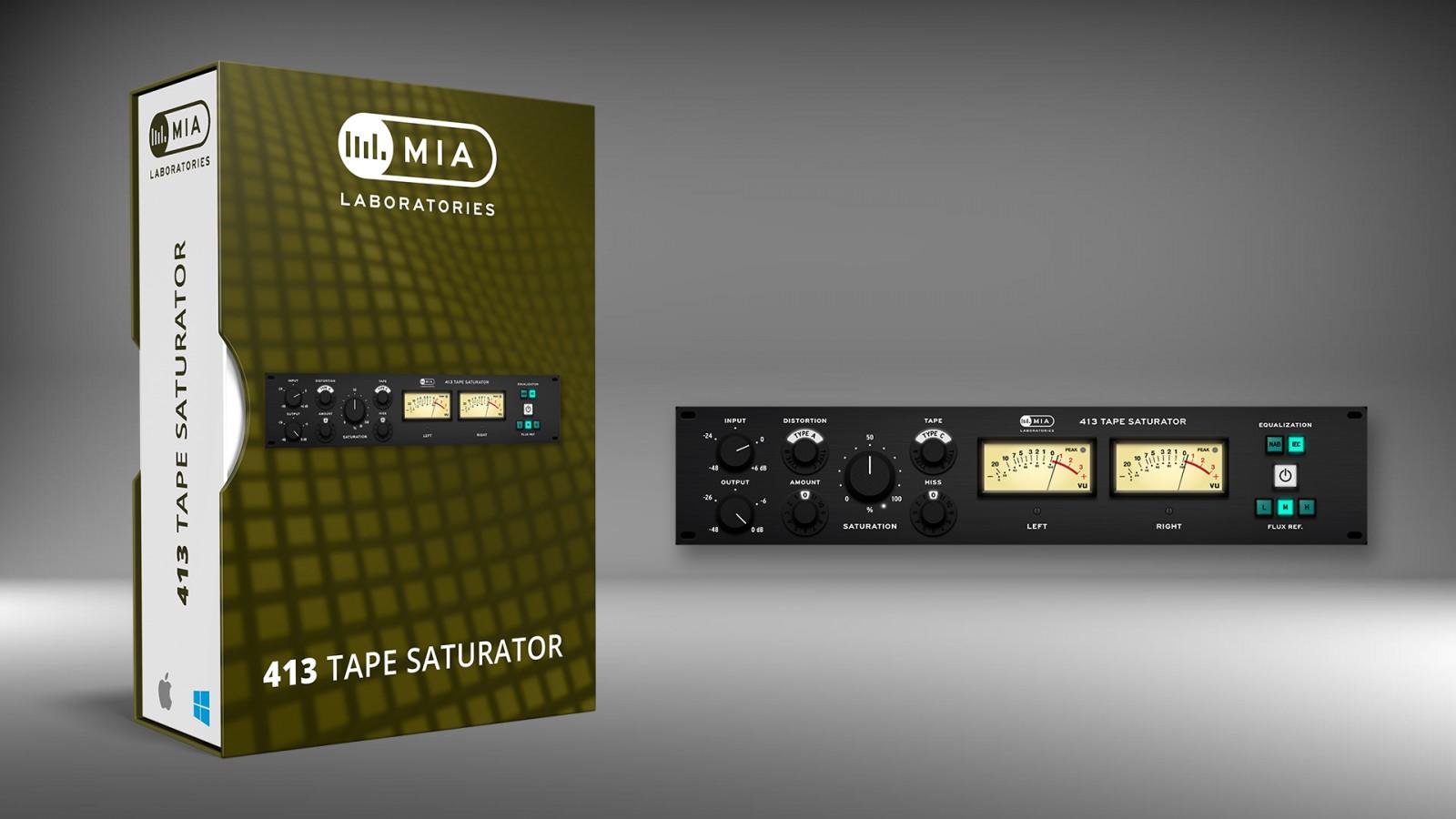 MIA 413 Tape Saturator Banner