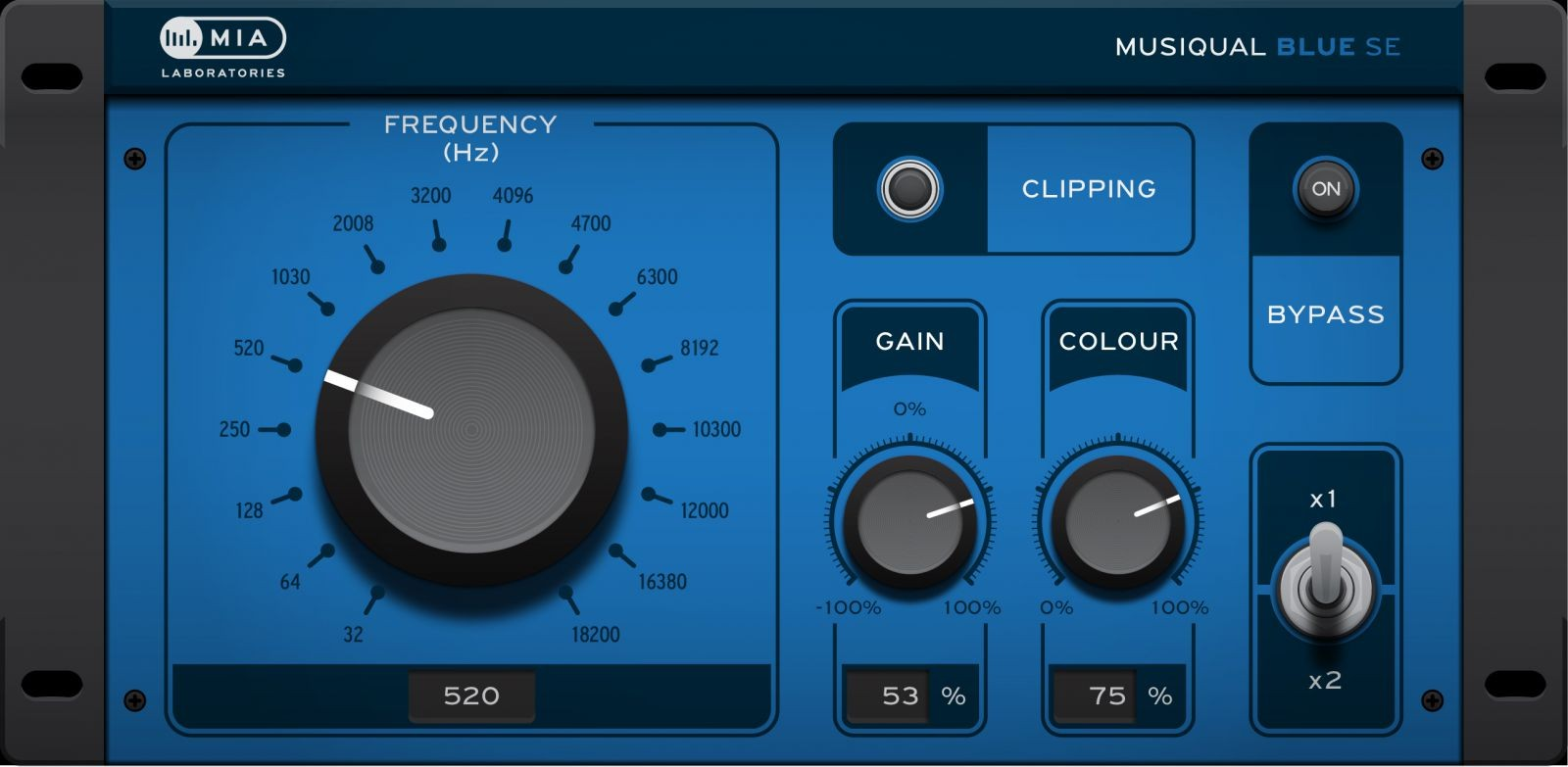 MusiqualBlue GUI