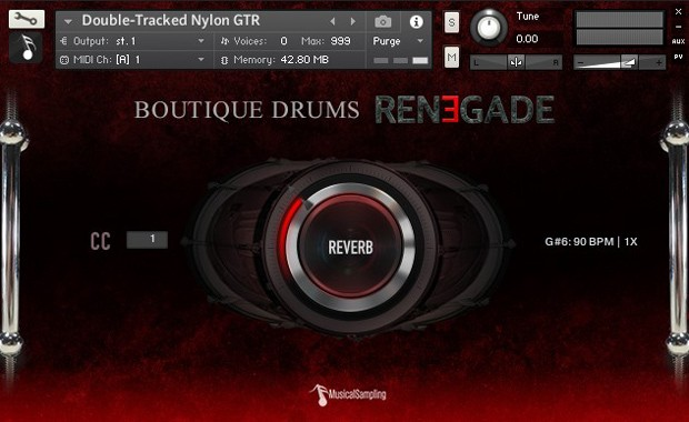 Renegade Drums GUI 1