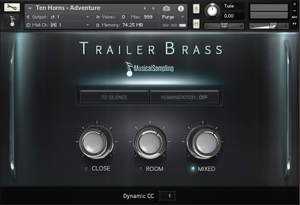 Trailer Brass Main Gui