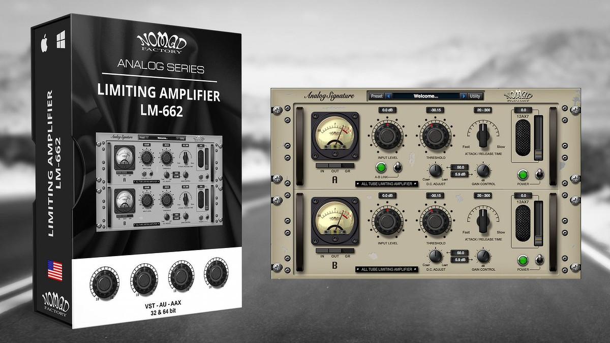 ASP Limiting Amplifier LM-662 Banner