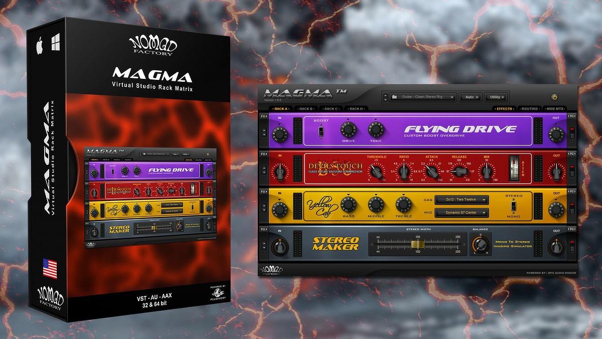 Magma Banner