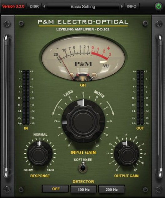 elctro optical gui