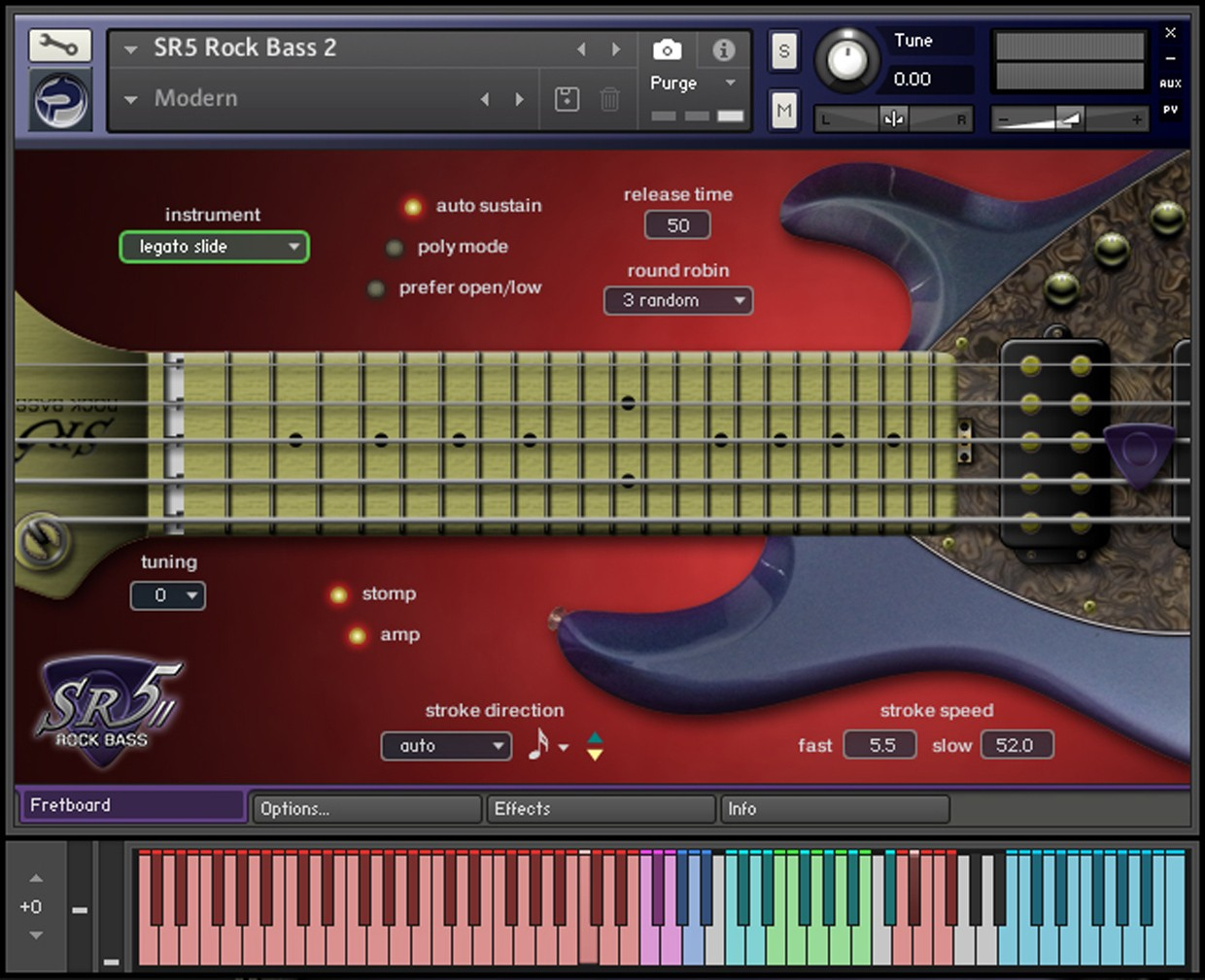 SR5 Rock Bass 2 Main GUI