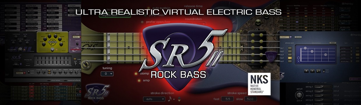 SR5 Rock Bass Header