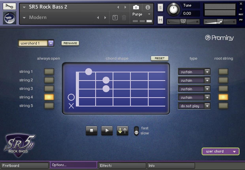 SR5 II Chord GUI