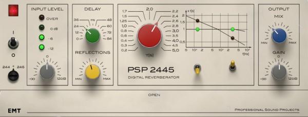 PSP EMT 2445 GUI