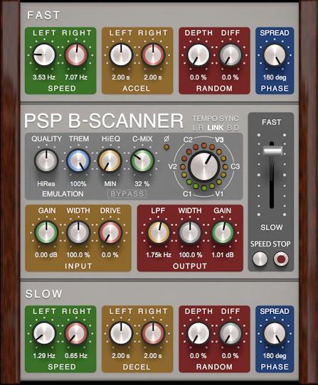 B-Scanner GUI Screen
