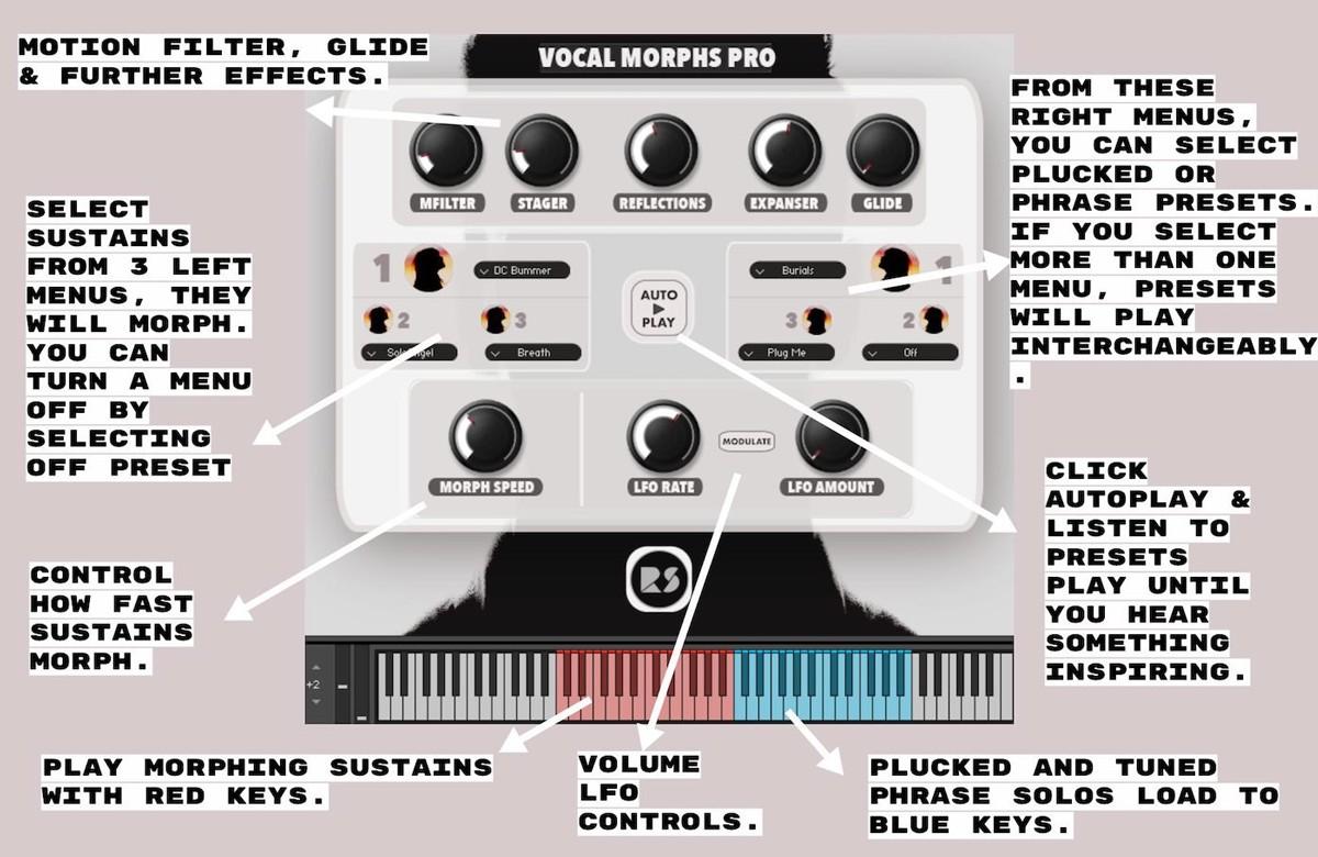Vocal Morphs Pro GUI