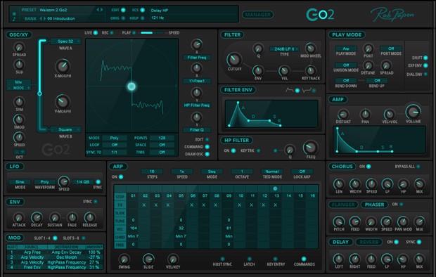 Go2 GUI Screen
