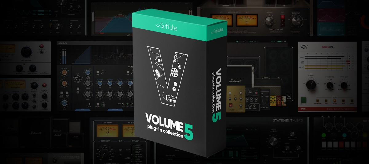Softube Vol 5 Cover