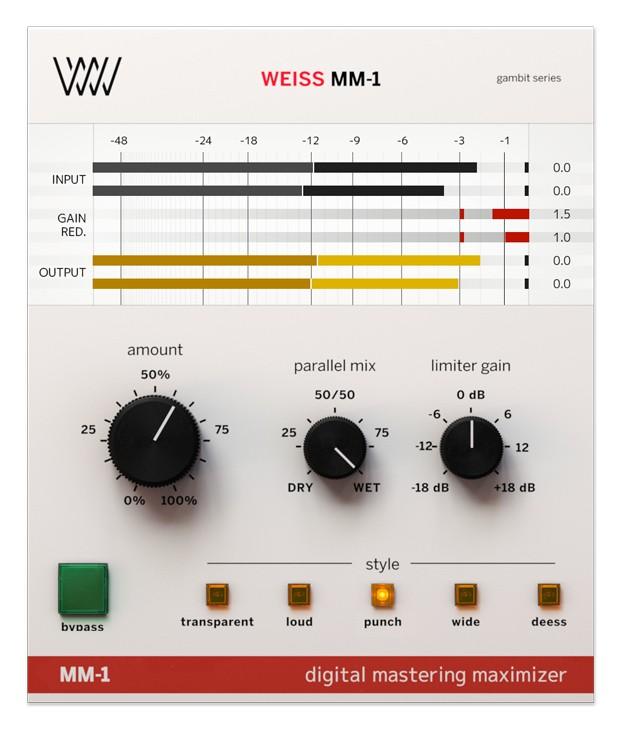 Weiss MM1 Screenshot