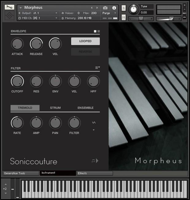 Morpheus Instrument Panel