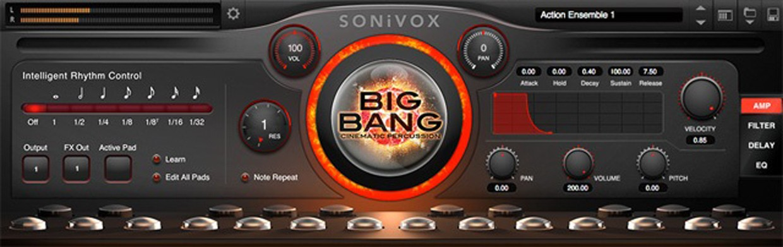 Big Bang Cinematic GUI