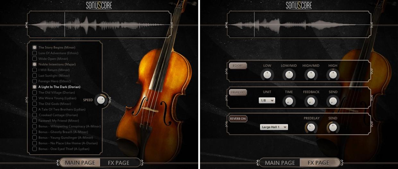 Lyrical Violin Banner