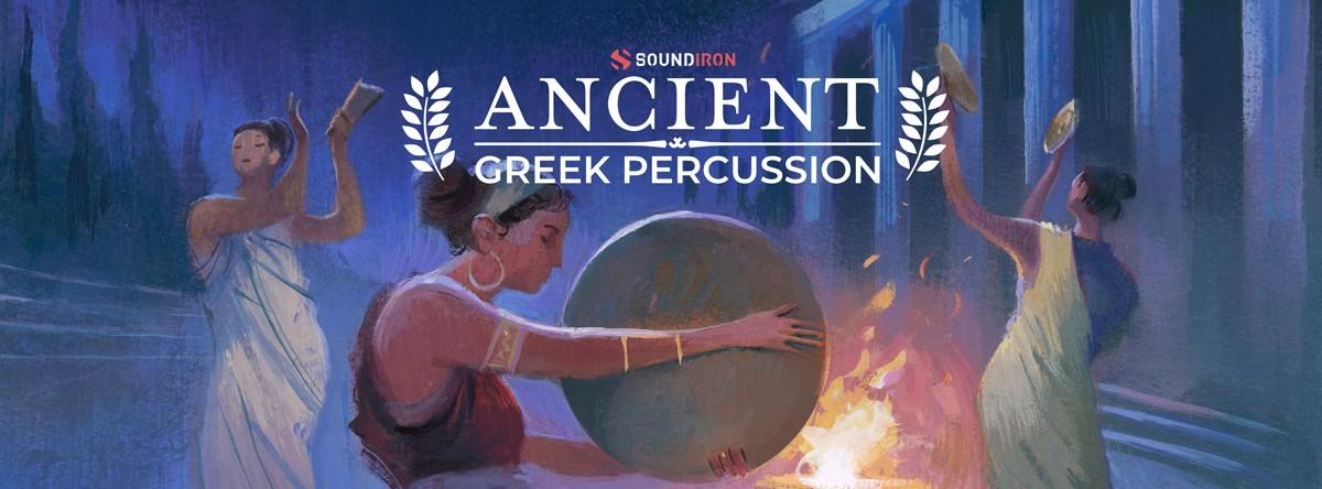 Ancient Greek Percussion Header
