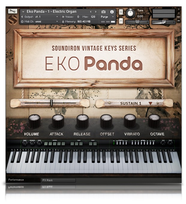 Eko Panda GUI Screen