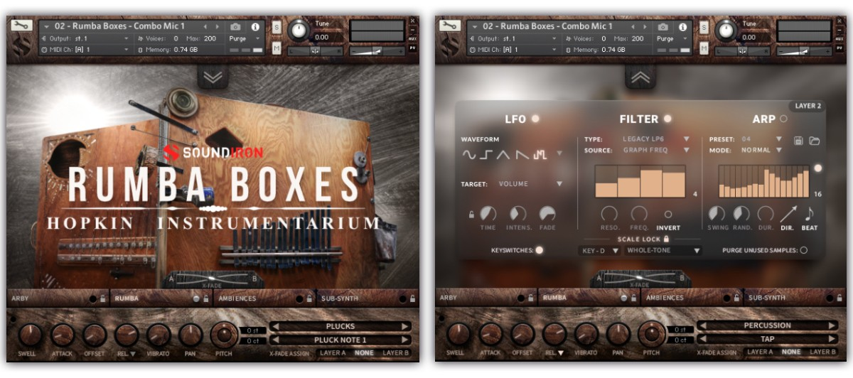 Rumba Boxes GUI